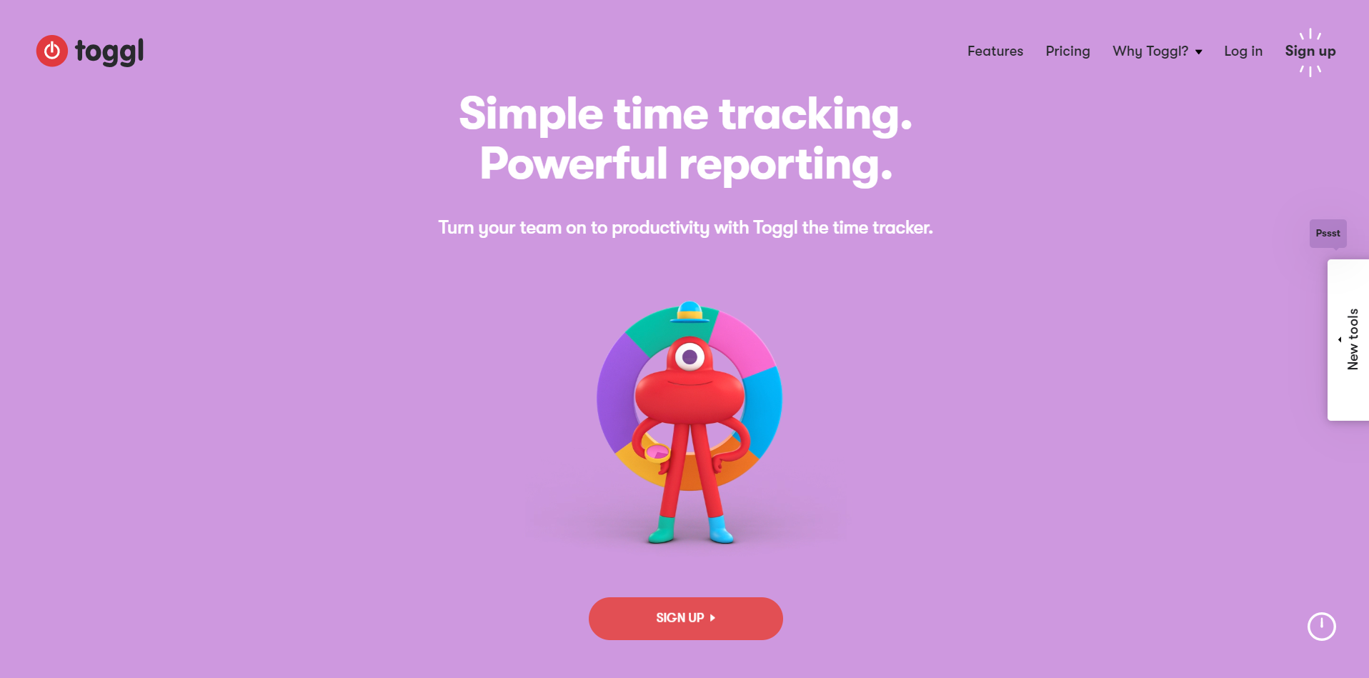 Toggl - Time Tracking Tool - Work from home guide